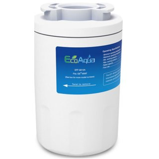 GE Smart Water MWF -compatible refrigerator water filter EcoAqua EFF-6013A